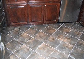 Custom Kitchen Flooring Work