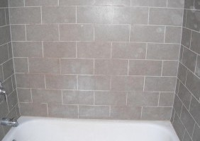 Custom Shower Tile Work