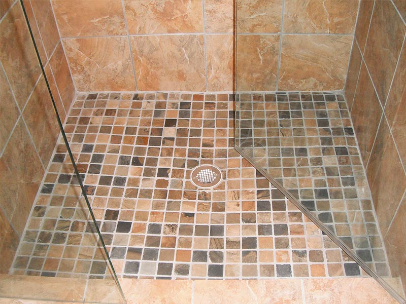 regrouting bathroom floor tiles custom travertine shower w smaller tiles for flooring 20144